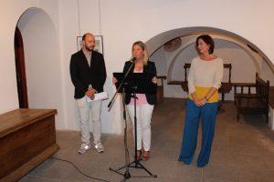 Bodegas Verum - Inmaculada Jimenez inaugura la exposicion